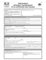 Cerfa 13408-05 – Achèvement et conformité des travaux