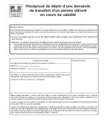 Cerfa 13412-07 – Demande de transfert d'un PC en cours de validité