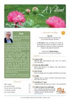 À Villecerf – mai-juin 2021